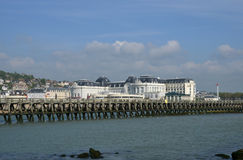 France, the picturesque city of Trouville Royalty Free Stock Image