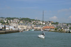 France, the picturesque city of Trouville Royalty Free Stock Photo