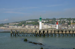 France, the picturesque city of Trouville Royalty Free Stock Photography