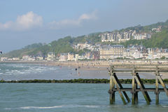 France, the picturesque city of Trouville Stock Photos