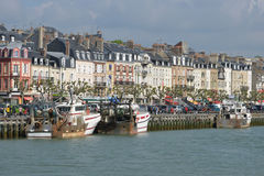 France, the picturesque city of Trouville Stock Images