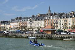 France, the picturesque city of Trouville Stock Photo