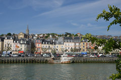 France, the picturesque city of Trouville Royalty Free Stock Photos