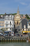 France, the picturesque city of Trouville Royalty Free Stock Images