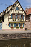 France, the picturesque city of Wissembourg in Bas Rhin Royalty Free Stock Images