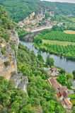 France, picturesque Dordogne valley in Perigord Royalty Free Stock Photo
