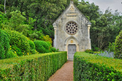 France, picturesque garden of Marqueyssac  in Dordogne Royalty Free Stock Image