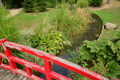 France, the picturesque japanese garden of  Aincourt. Ile de France, the picturesque japanese garden of  Aincourt Stock Photos