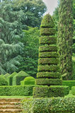France, picturesque Jardins du Manoir d Eyrignac in Dordogne stock image