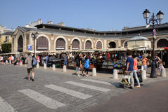France, the picturesque market of Versailles Royalty Free Stock Image