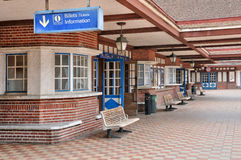France, picturesque station of Deauville in Normandie Royalty Free Stock Photo