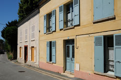 France, the picturesque village of Auvers sur Oise Royalty Free Stock Image