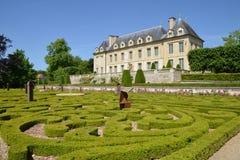 France, the picturesque village of Auvers sur Oise stock image