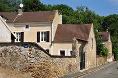 France, the picturesque village of Boisemont Stock Photo