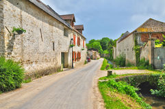 France, the picturesque village of Brueil en Vexin Royalty Free Stock Photography