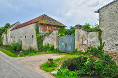 France, the picturesque village of Brueil en Vexin Royalty Free Stock Image