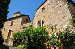 France, picturesque village of Castelnaud la Chapelle Stock Photos