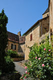 France, picturesque village of Castelnaud la Chapelle Royalty Free Stock Images
