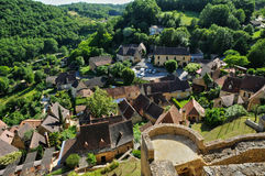 France, picturesque village of Castelnaud la Chapelle Royalty Free Stock Photo