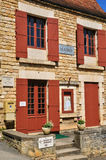 France, picturesque village of Castelnaud la Chapelle Royalty Free Stock Photography