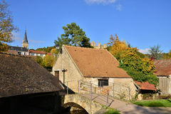 France, the picturesque village of Chevreuse Royalty Free Stock Photos