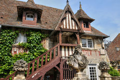 France, picturesque village of Dives sur Mer Royalty Free Stock Images
