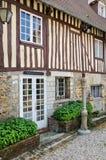 France, picturesque village of Dives sur Mer Stock Images