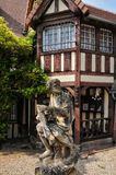 France, picturesque village of Dives sur Mer Royalty Free Stock Photos