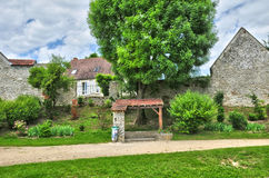 France, the picturesque village of Fontenay Saint Pere Stock Photography