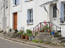 France, the picturesque village of Fontenay Saint Pere Stock Photos