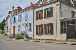 France, the picturesque village of Fontenay Saint Pere Royalty Free Stock Images