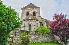 France, the picturesque village of Fontenay Saint Pere in les Yv Stock Photos