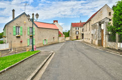 France, the picturesque village of Fontenay Saint Pere in les Yv Stock Image