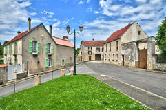 France, the picturesque village of Fontenay Saint Pere in les Yv Stock Images