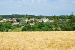 France, the picturesque village of Fontenay Saint Pere in les Yv Royalty Free Stock Photos