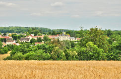 France, the picturesque village of Fontenay Saint Pere in les Yv Royalty Free Stock Photography