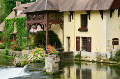 France, the picturesque village of Fourges Royalty Free Stock Photography