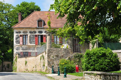 France, the picturesque village of Fremainville in Val d Oise Royalty Free Stock Photo