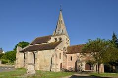France, the picturesque village of  Gaillon sur Moncient Royalty Free Stock Images
