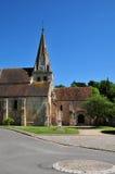 France, the picturesque village of Gaillon sur Montcient Stock Photo
