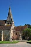 France, the picturesque village of Gaillon sur Montcient Stock Photography