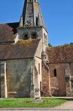 France, the picturesque village of Gaillon sur Montcient Royalty Free Stock Photography