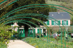 France, picturesque village of Giverny in Normandie Royalty Free Stock Image