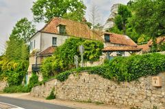 France, the picturesque village of Haute Isle. Ile de France, the picturesque village of Haute Isle Royalty Free Stock Photography