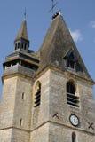 France, the picturesque village of La Chaussée d Ivry Stock Photos