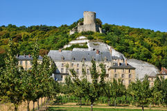 France, the picturesque village of La Roche Guyon Stock Photography