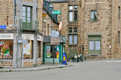 France, picturesque village of Lassay les Chateaux Royalty Free Stock Photos