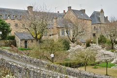 France, picturesque village of Lassay les Chateaux in Mayenne Royalty Free Stock Photography