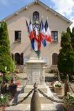 France, the picturesque village of Les Alluets le roi Stock Photos