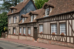 France, picturesque village of  Lyons la Foret Royalty Free Stock Image